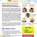 Pendaftaran FGD Review Kurikulum 2013 Tingkat SMP dan SMA/sederajat