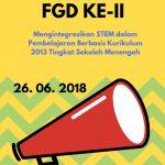 Pengumuman FGD STEM Ke-II